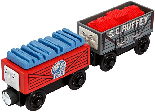 (Fisher-Price Thomas & Friends Wooden Railway, Demolition Team Truck)