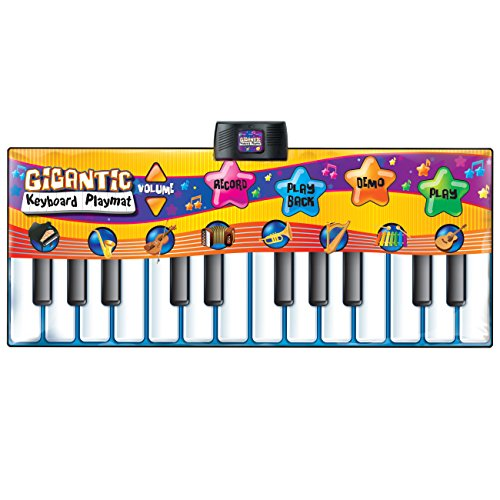 Best Choice Products Kids Big Keyboard Piano Fun Dance Playmat with 8 Instruments & 4 Play Modes, Multicolor by Best Choice Products (Image #1)