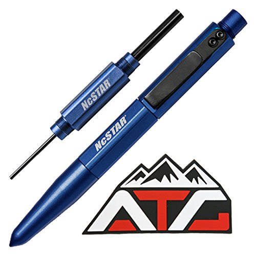 ATG Patch and NcSTAR Glock Pistol Disassembly Tool & Front Sight Installation Hex Tool Pen Set