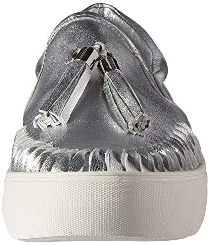 J Slides JSlides Damen Aztec Fashion Sneaker Silber Met.