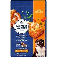 Farmers Market Pet Food Premium Natural Dry Dog Food, 10 Lb Bag, Chicken with Farm Vegetables