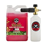 Chemical Guys EQP344 TORQ Foam Cannon Snow Foamer & Watermelon Snow Foam Auto Wash (128 fl oz.), 1 gallon, 1 Pack