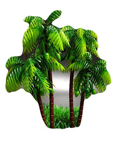 [Miniatures Plant for Decor Dollhouse Plastic Palm Trees Toy Soldier 5''] (Bk King Costume)