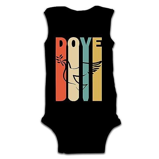 Amazon com: Newborn Infant Baby Retro Style Dove Silhouette
