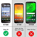 NEWDERY Moto G6 Battery Case 4000mAh, Slim