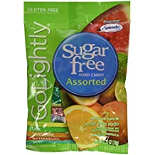 Go Lightly Sugar Free Hard Candy Assorted 2.75 oz Bag, Kosher