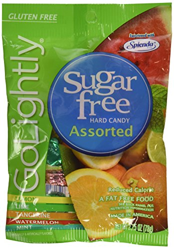 Go Lightly Sugar Free Hard Candy Assorted 2.75 oz Bag, Kosher