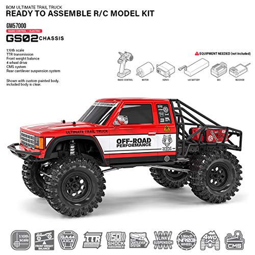Gmade 57000 1/10 GS02 BOM 4WD Ultimate Trail Truck