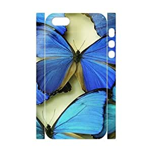 Butterfly Brand New 3D Cover Case for Iphone 5,5S,diy case cover ygtg524114