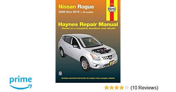 nissan rogue 2015 maintenance manual