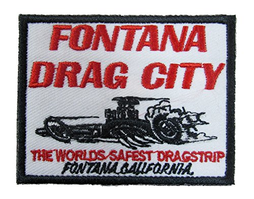 Fontana Drag City Iron On Patch