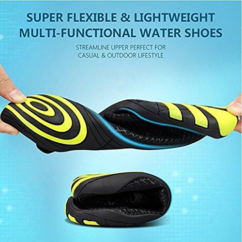 Hommes S Respirants Femmes Chaussures Dannto Sport de Aquatique d'eau Chaussons zpTq8qwE