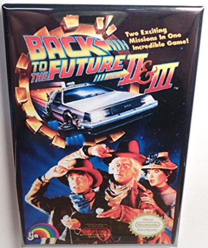 Back To The Future Nes Game - Back to the Future 2 Nintendo NES Vintage Game Box 2