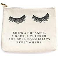 Eyelash Dreamer Makeup Bag, Eyelash Dreamer, Makeup Bag, Makeup, Lashes, Make Up Bag, Makeup Storage, Cosmetic Pouch, Makeup, Back To School, Pencil Pouch, Pencil Bag, Cosmetic Bag
