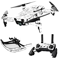 MightySkins Skin for DJI Mavic Air Drone - Viper Snow | Max Combo Protective, Durable, and Unique Vinyl Decal wrap cover | Easy To Apply, Remove, and Change Styles | Made in the USA