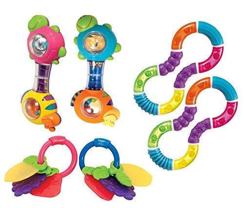 Becker's School Supplies Infant Rattle Set (Set of 6) [並行輸入品]   B07K9QYKRM