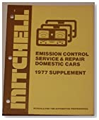 Mitchell Emission Control Service & Repair (For Imported Cars & Trucks 1977 Supplement)