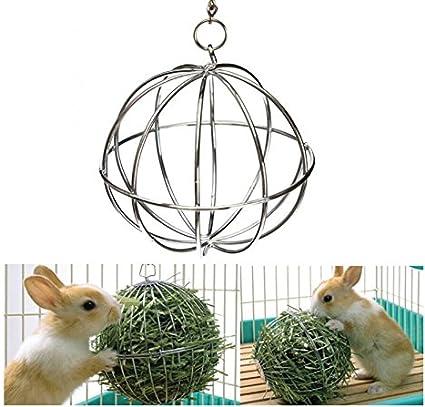 Bola dispensadora de comida, de Honeysuck, para hámsters, ratas y conejos