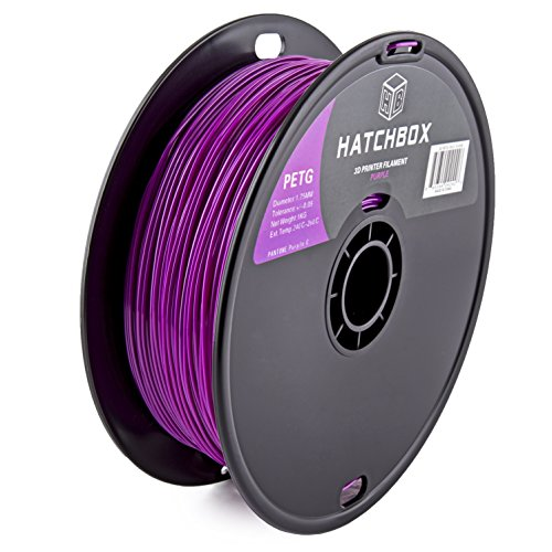 HATCHBOX 3D PETG 1KG1 75 PUR Filament Dimensional
