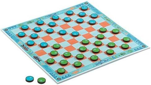 DJECO- Juegos Tradicionales Clásicos Damas, Multicolor (15): Amazon.es: Juguetes y juegos