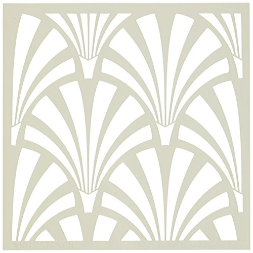 Judikins Deco Palms Square Kite Stencil, 6