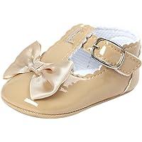 Fossen Bebe Niñas Zapatos de Vestir Recién nacido Primeros Pasos de Suela Blanda con Bowknot Princesa Estilo