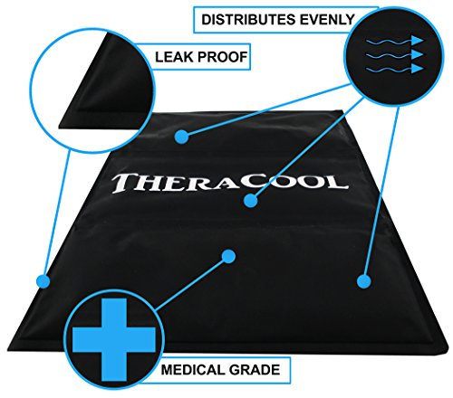 Gel Triple Pack - Ice Packs for Injuries | X Large Gel Cold Compress Best for Shoulder Back Ankle Arm Sciatic Nerve Pain Relief Arthritis Recovery Bruises Aches | Reusable 15 x 12 Oversized Medical Grade Therapy Aid