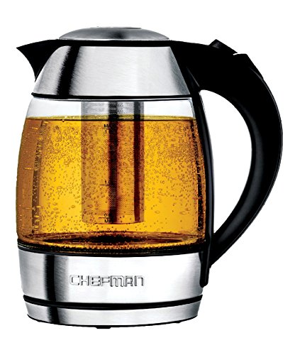 Chefman - 1.8L Electric Kettle - Stainless steel