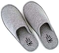 "Our customers said, ""I wear slippers 99% of the time when I am home and awake. It isn't simple to find a good pair, that meet all criteria. The first thing I ask myself when shopping for slippers is, can I step out onto my wet patio wearing t..."