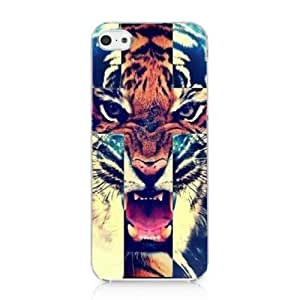 Tiger Roar Cross Hipster Quote Design for Iphone 5c Case Hard Cover WANGJING JINDA