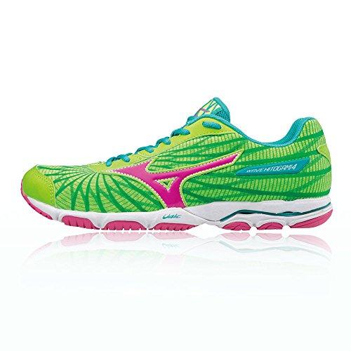 Mizuno Wave Hitogami W, Zapatillas de Running Para Mujer Verde