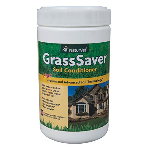 Ast Soil Conditioner (NaturVet 79903432 GrassSaver Gypsum Soil Conditioner Jar, 1.5 oz)