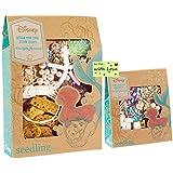 Seedling Disneys Little Mermaid Princess Craft Kits for Girls DIY Ariel Shell Jewelry & Seashell Crown w/Gift Card