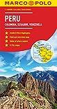 Peru, Colombia, Venezuela Marco Polo Map (Ecuador, Guyana, Suriname) (Marco Polo Guide)