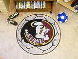Fanmats Official NCAA Soccer Ball Floor Mat