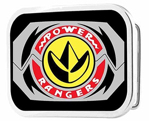 Power Rangers Live Action TV Series Dragon Zord Logo Rockstar Belt Buckle (Power Ranger Belt)
