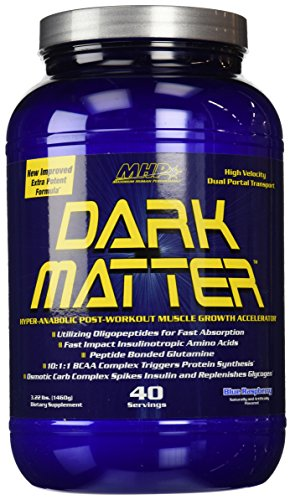 MHP Dark Matter Post-Workout Muscle Growth Accelerator, Blue Raspberry, 3.22 Pound (Muscle Accelerator)
