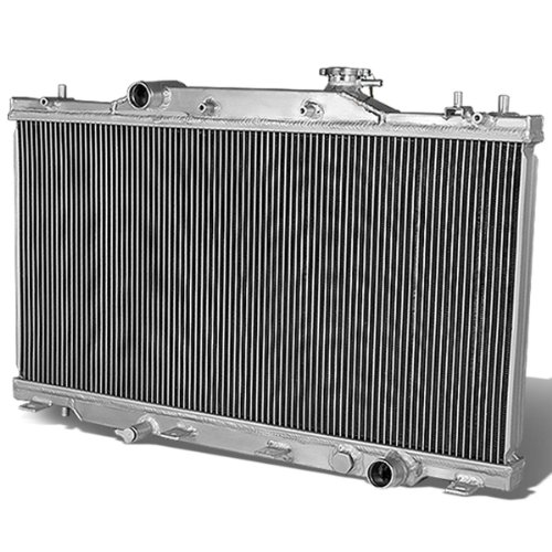 (For Acura RSX Full Aluminum 2-Row Racing Radiator (Manual Transmission) DC5)