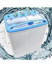 Wiltec Pralka kempingowa do 5,2 kg dla zwykłego i delikatnego prania z funkcją wirowania