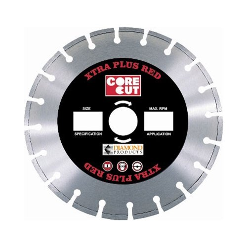 UPC 603461537230, Diamond Products 53723 14-Inch Extra Plus Red High Speed Diamond Blade