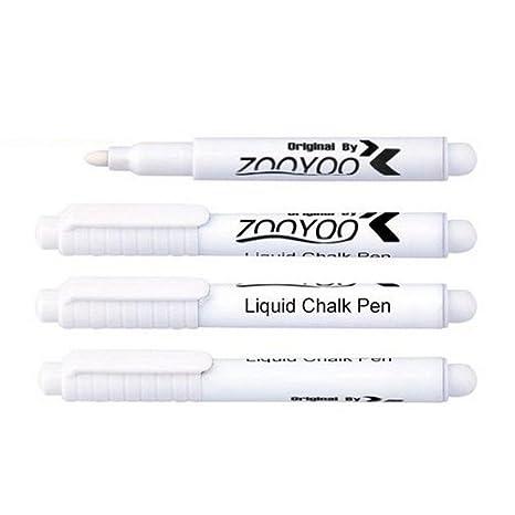 Utilidad HuaYang borrable blanco tiza líquida pluma Pizarra ...