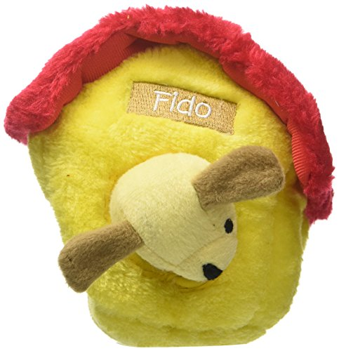 ZippyPaws Burrow Squeaky Hide and Seek Plush Dog Toy, Dog Ho