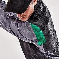 Slazenger Mens Waterproof Golf Jacket Chin Guard Zip Top