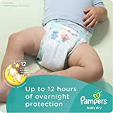 Pampers Baby Dry Newborn Diapers Size 1, 120 Count