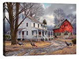 Cortesi Home The Way It Used To Be by Chuck Pinson, Giclee Canvas Wall Art, 26″ x 34″ For Sale
