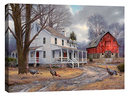Cortesi Home ''The Way It Used To Be'' by Chuck Pinson, Giclee Canvas Wall Art, 26'' x 34'' by Cortesi Home