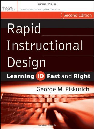 Rapid Instructional Design: Learning ID Fast and Right by George M. Piskurich - City Rapid Mall Shopping