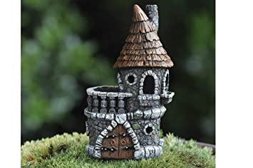 Amazoncom Miniature Fairy Garden Micro Mini Fairy Castle