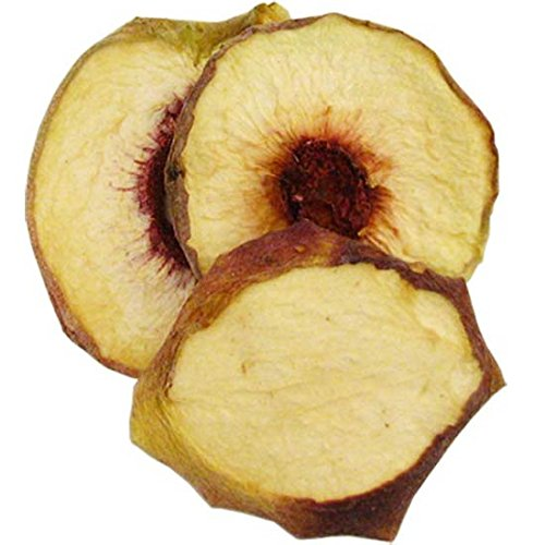 Natural Dried White Peaches, 2.5 lb by Bella Viva Orchards Dried Fruit