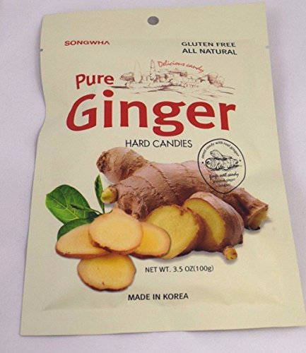 Pure Ginger Hard Candies 3 bags
